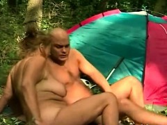 mature fucked outdoor by...