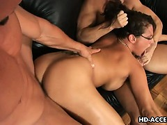 Tory Lane enjoys those big...