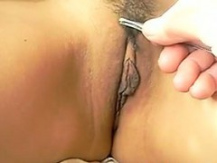 Asian Pussy Getting Hair...